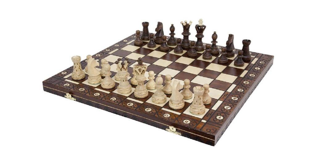 Handmade Wooden Chess 1