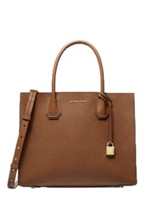 Michael Kors Mercer Large Saffiano Leather Tote Bag Luggage