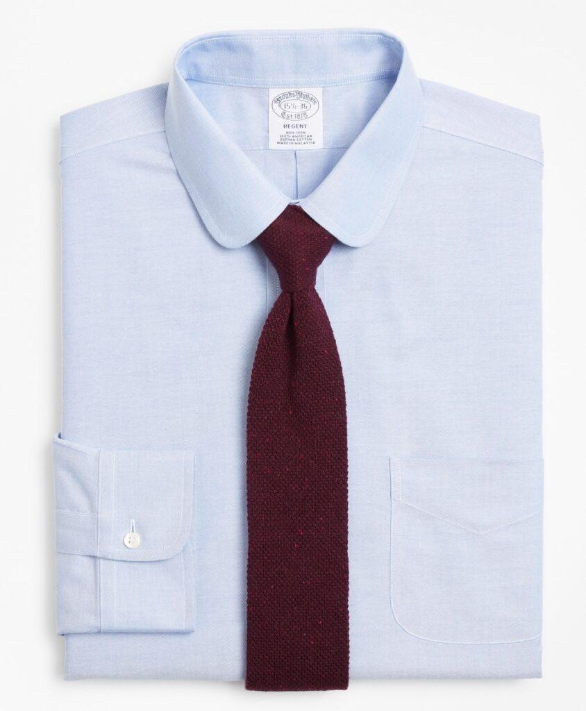 BrooksCool® Wrinkle Free Dress Shirt, Golf Collar