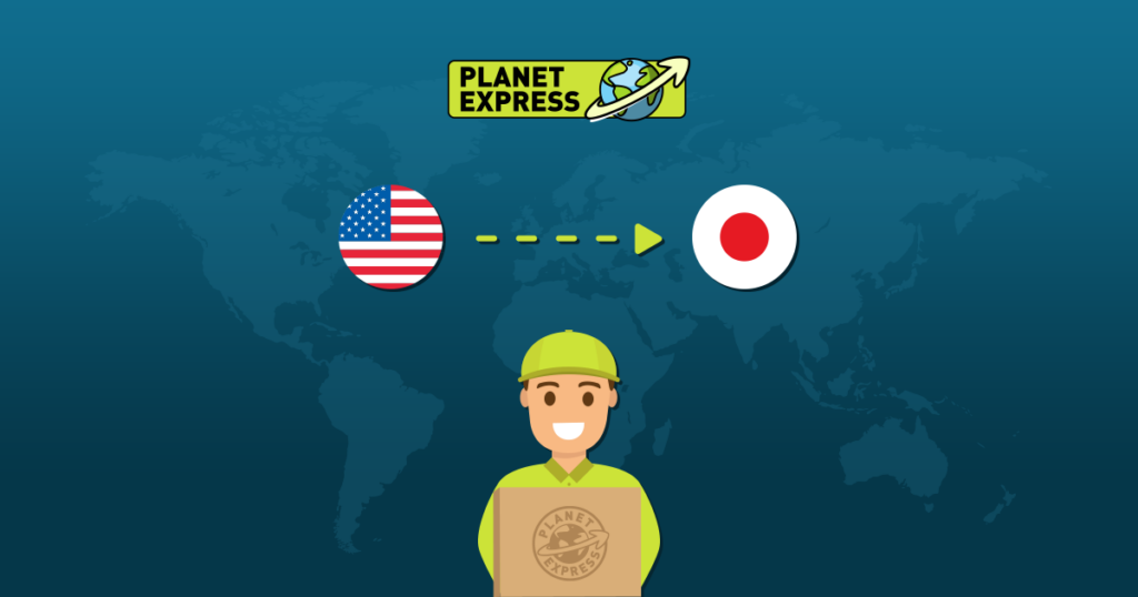Shipping from the USA to Japan 1200x630px