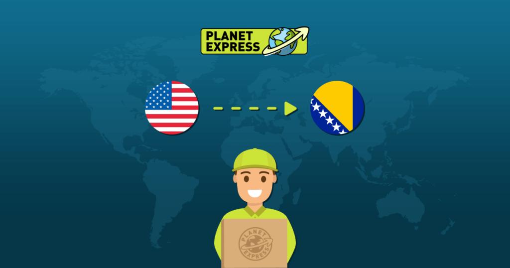 Shipping from the USA to BosniaHerzegovina