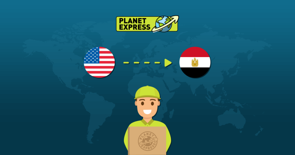 Shipping from the USA to Egypt