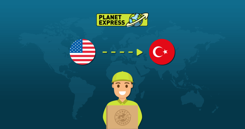 Shipping from the USA to Turkey