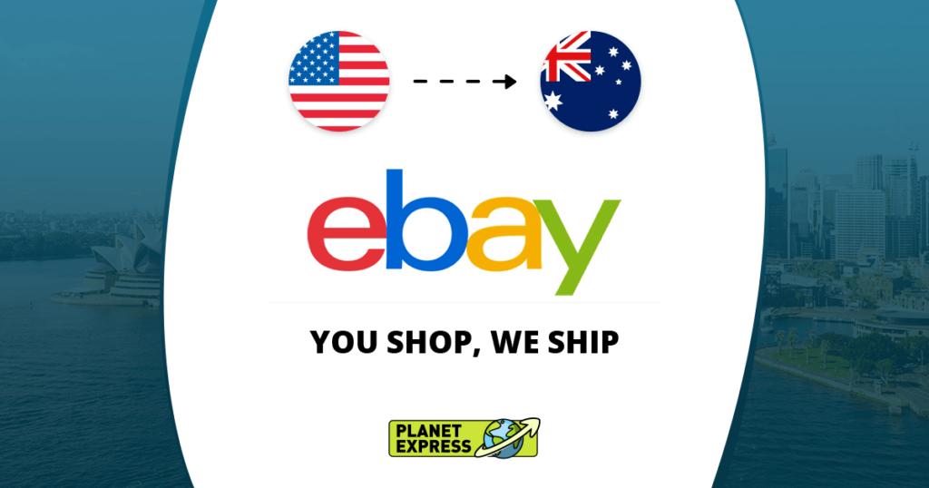 Shop Ship eBay from the USA to Australia